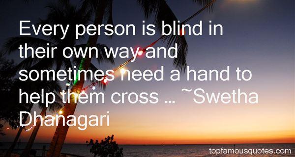 Swetha Dhanagari Quotes