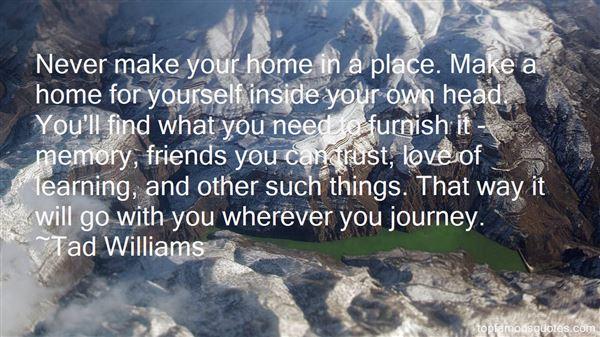 Tad Williams Quotes