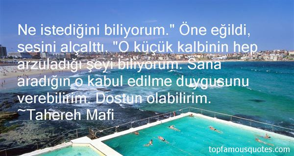 Tahereh Mafi Quotes