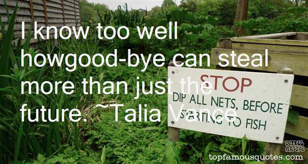 Talia Vance Quotes