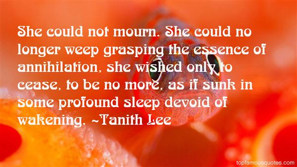 Tanith Lee Quotes