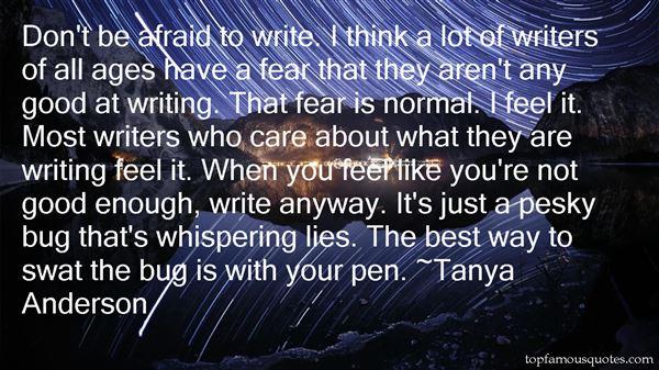 Tanya Anderson Quotes