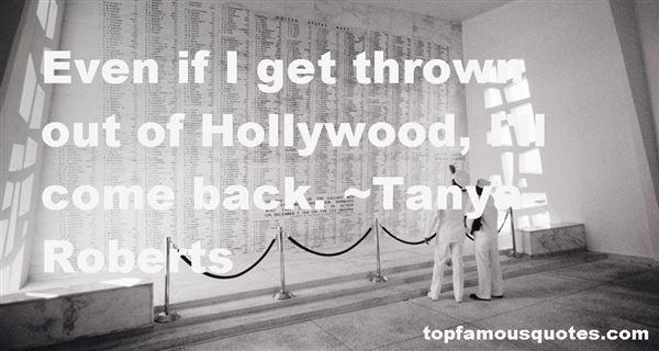 Tanya Roberts Quotes
