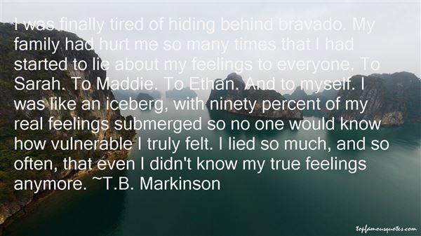 T.B. Markinson Quotes