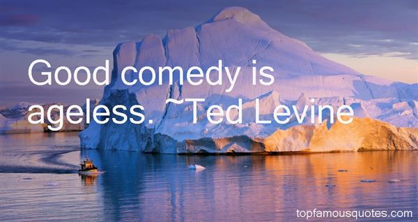 Ted Levine Quotes