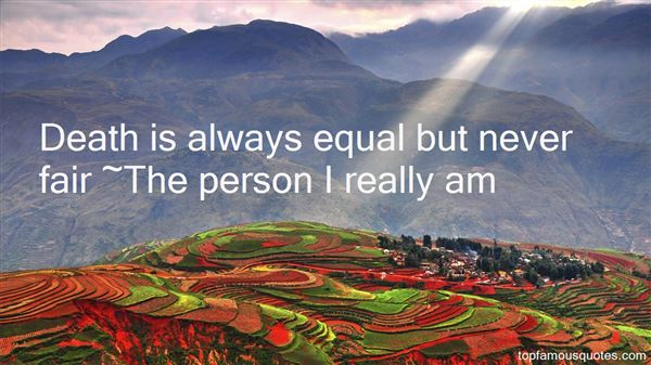 The Person I Really Am Quotes