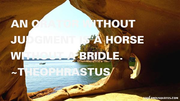 Theophrastus Quotes