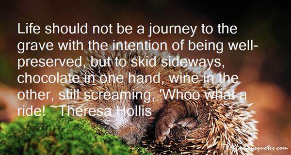 Theresa Hollis Quotes