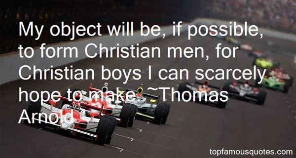 Thomas Arnold Quotes