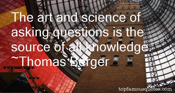 Thomas Berger Quotes