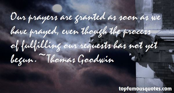Thomas Goodwin Quotes