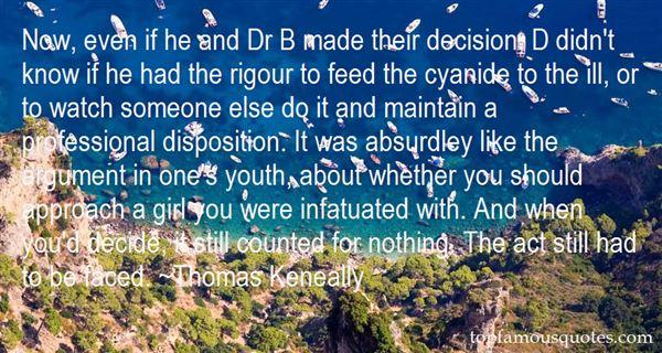 Thomas Keneally Quotes