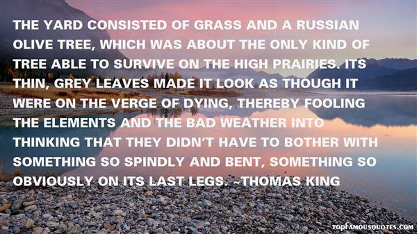 Thomas King Quotes