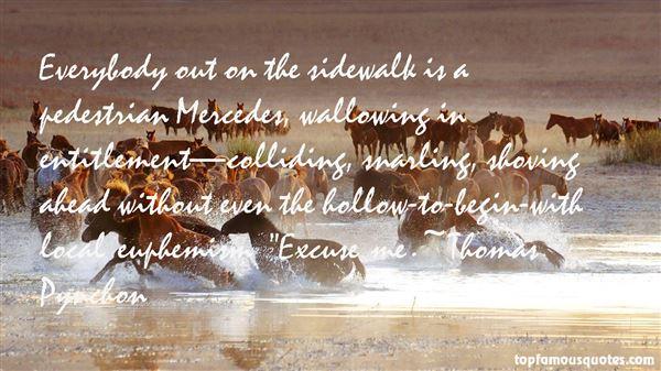 Thomas Pynchon Quotes