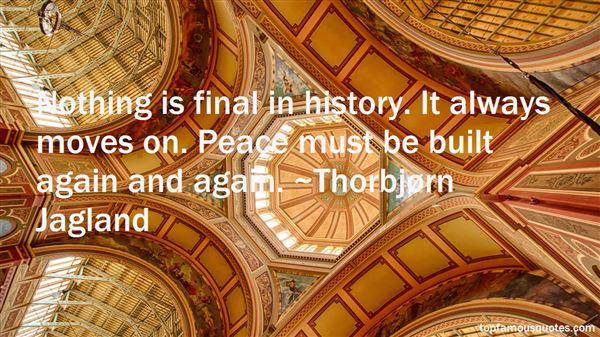 Thorbjørn Jagland Quotes