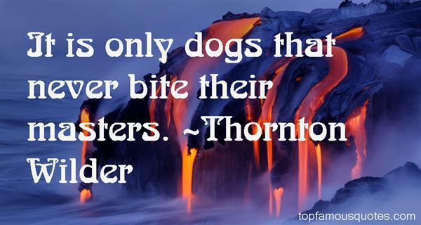 Thornton Wilder Quotes