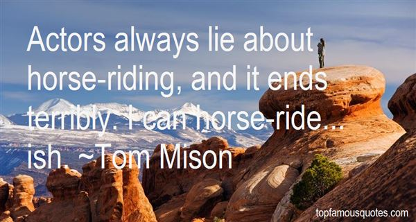 Tom Mison Quotes
