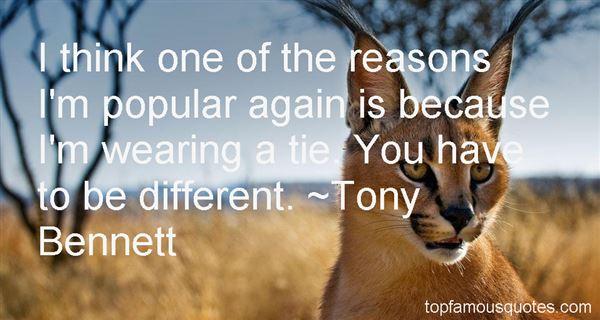 Tony Bennett Quotes