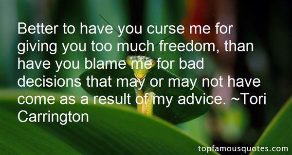 Tori Carrington Quotes
