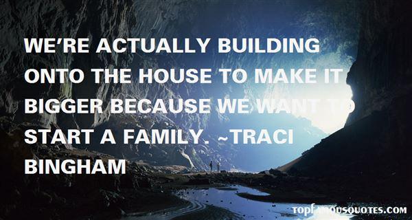 Traci Bingham Quotes