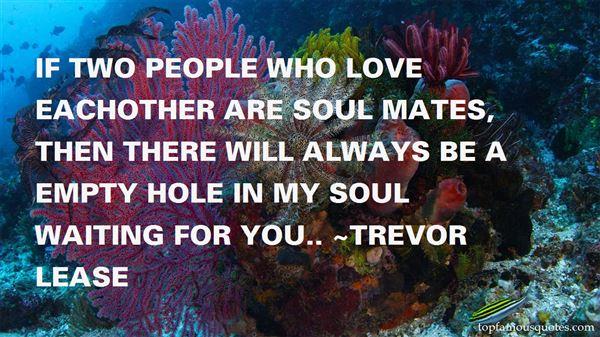 Trevor Lease Quotes