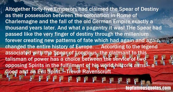Trevor Ravenscroft Quotes