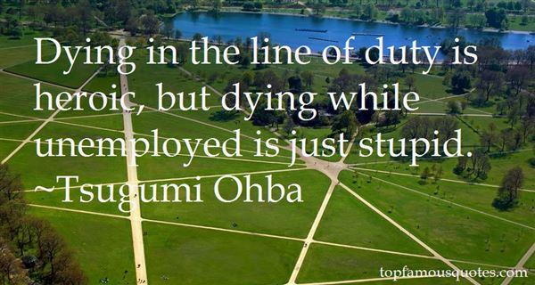 Tsugumi Ohba Quotes