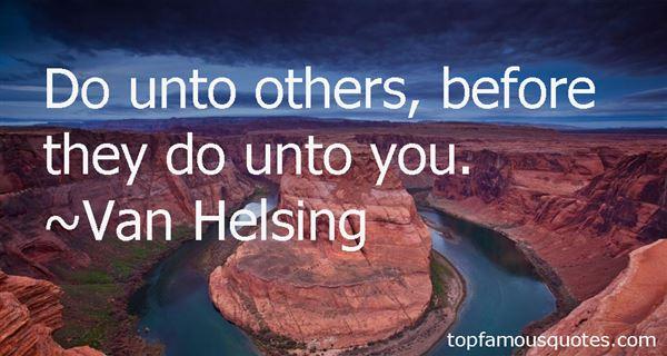 Van Helsing Quotes