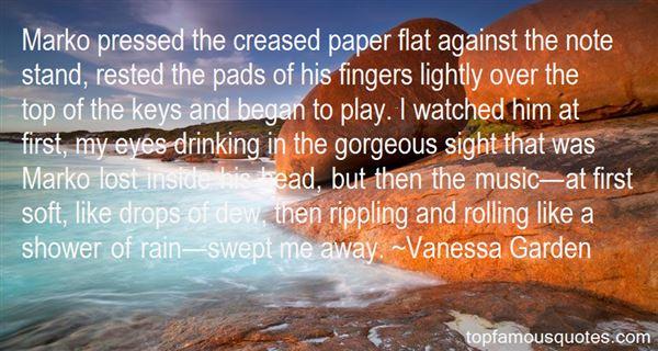 Vanessa Garden Quotes