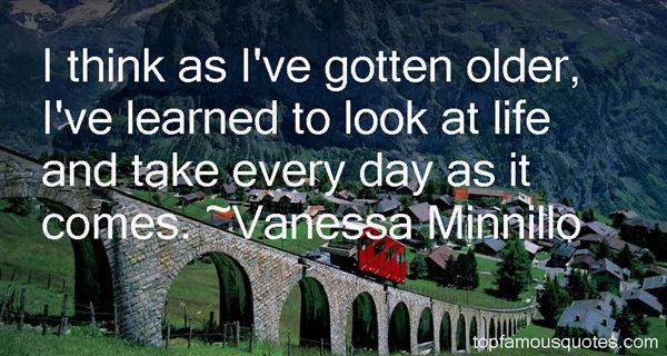Vanessa Minnillo Quotes