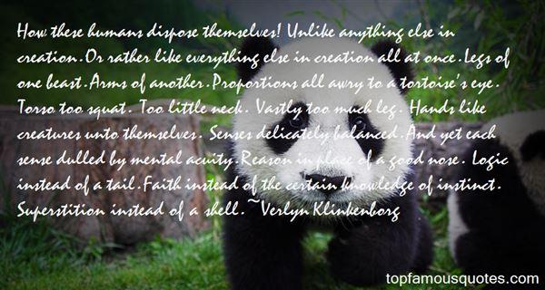 Verlyn Klinkenborg Quotes