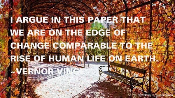 Vernor Vinge Quotes