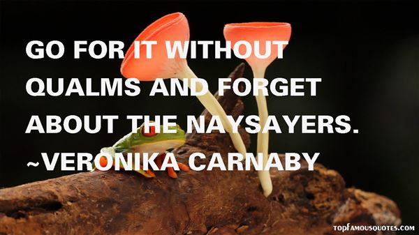 Veronika Carnaby Quotes