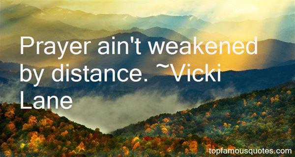 Vicki Lane Quotes