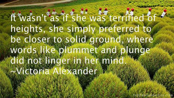 Victoria Alexander Quotes