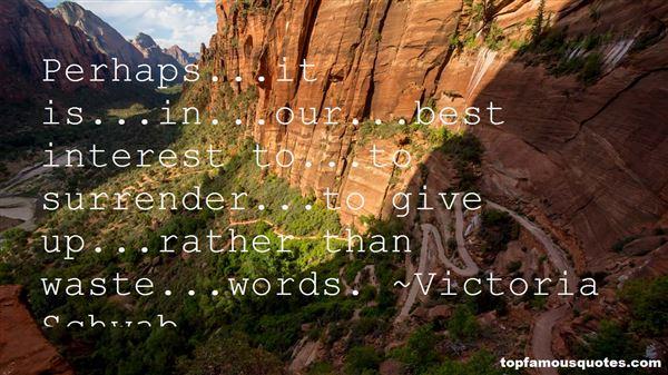 Victoria Schwab Quotes