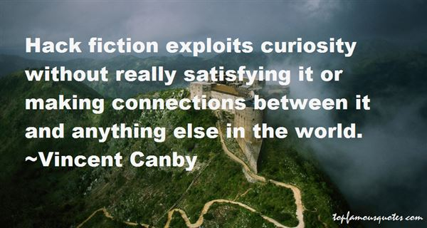 Vincent Canby Quotes