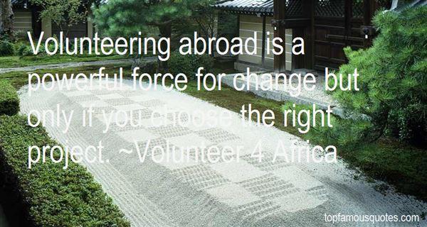 Volunteer 4 Africa Quotes