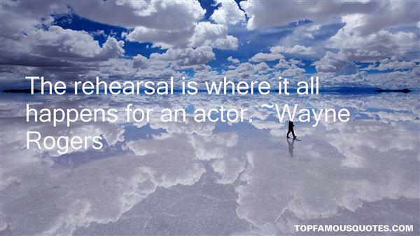Wayne Rogers Quotes