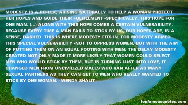 Wendy Shalit Quotes