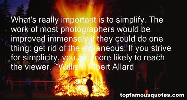 William Albert Allard Quotes