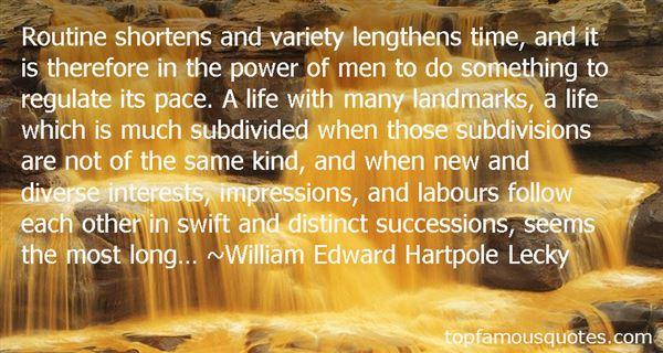 William Edward Hartpole Lecky Quotes