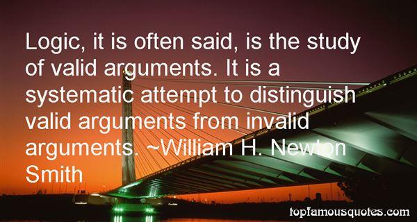 William H. Newton Smith Quotes