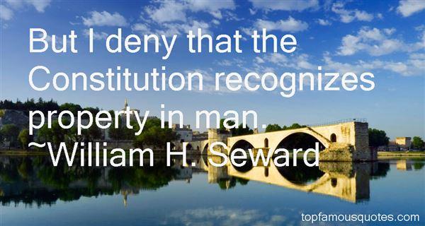 William H. Seward Quotes
