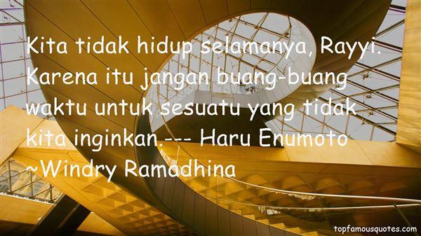 Windry Ramadhina Quotes