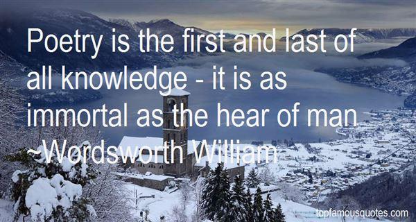 Wordsworth William Quotes