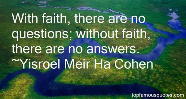 Yisroel Meir Ha Cohen Quotes