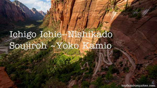 Yoko Kamio Quotes