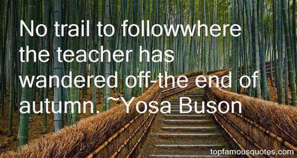 Yosa Buson Quotes