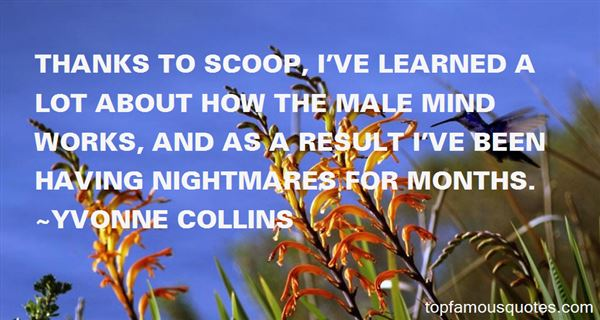 Yvonne Collins Quotes
